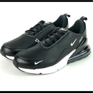 Nike Shoes - Nike Air Max 270 Premium Leather Running Shoes